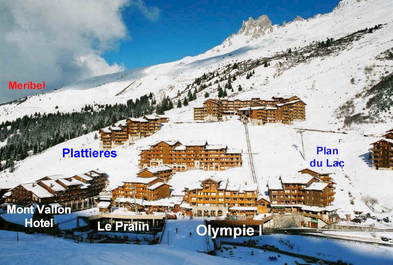 Apartment D Le Pralin Meribel Mottaret